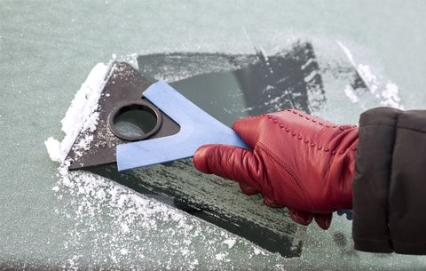 How to Remove Ice From Your Windshield in 1 Minute | Men's
