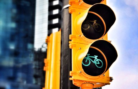 This City Is Adding Bike-Friendly Traffic Lights at Every Intersection
