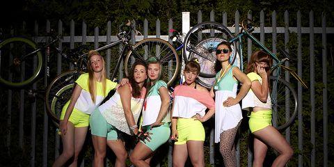 Deadly Nightshades all-girl cycling club
