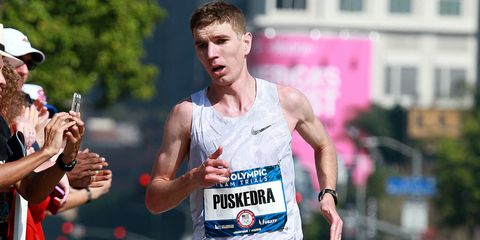 Luke Puskedra finishes fourth at Olympic Marathon Trials