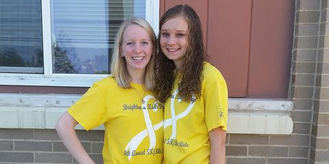 Photo of Macy and Carly Gudenkauf