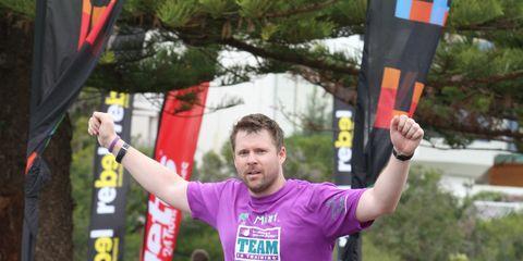 Matt Jones marathoner
