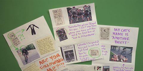 We Dare You Letter from Brett