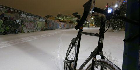 Winter Bike to Work