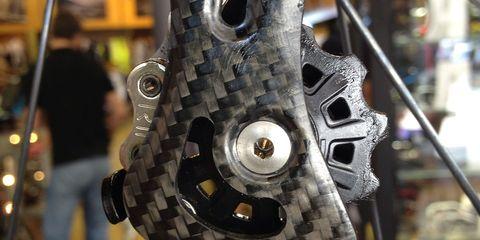 carbon-fiber derailleur for bicycle