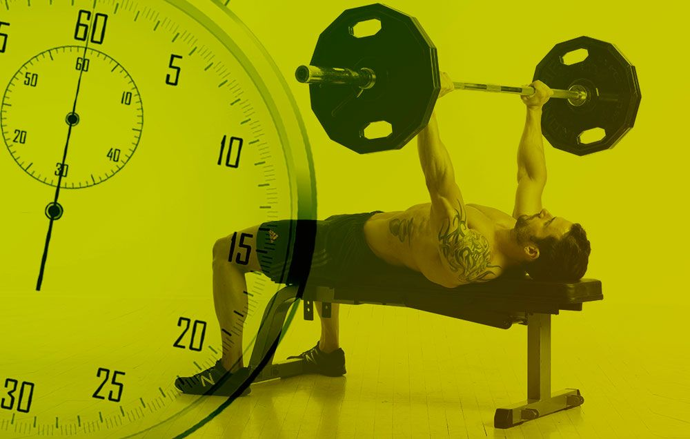 You're Probably Not Resting Enough Between Sets For Maximum Gains