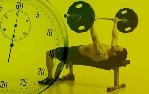 How Long To Rest Between Sets Men S Health