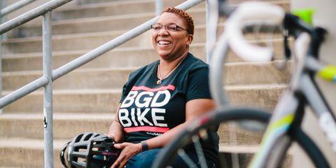 Monica Garrison of Black Girls Do Bike