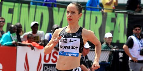 Shannon Rowbury at the 2015 Prefontaine Classic.