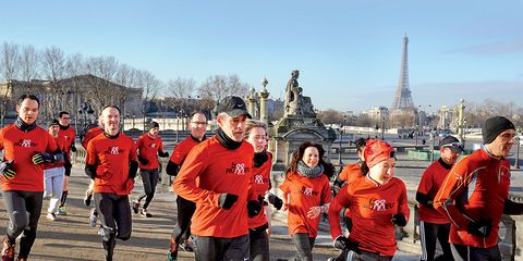 Free Runners French running group
