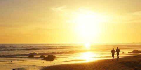 sunset running vitamin d