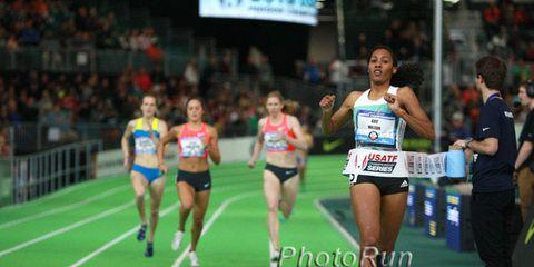 Ajee Wilson wins 2016 indoor championship in 800 meters