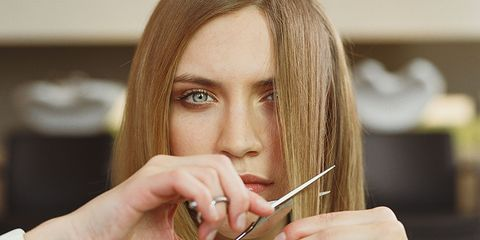 tips for cutting your own hair