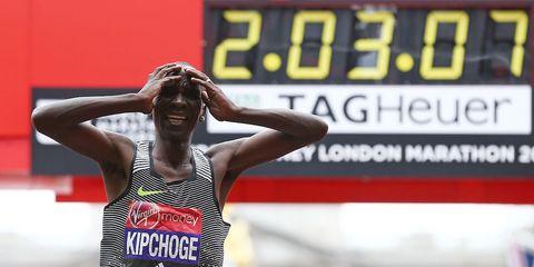 Kipchoge wins 2016 London Marathon