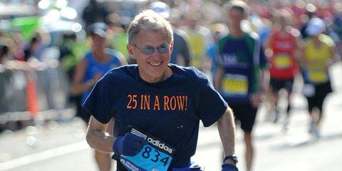 Stephen Reed at the 2014 Boston Marathon