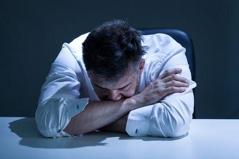 Suicide rates middle age men