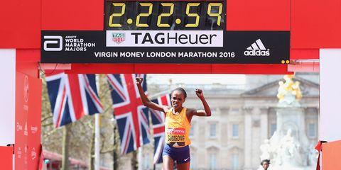 Sumgong wins 2016 London Marathon