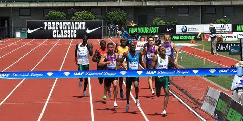Men's 800 meters at 2015 Pre Classic