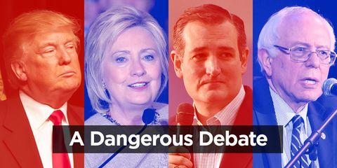 A dangerous debate