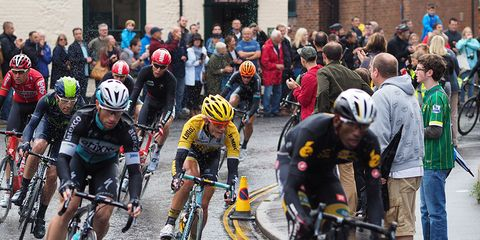 The Tour of Britain, Stage 6.
