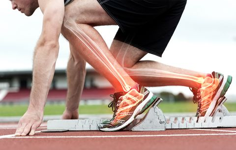 How Running and Lifting Make Your Bones Stronger