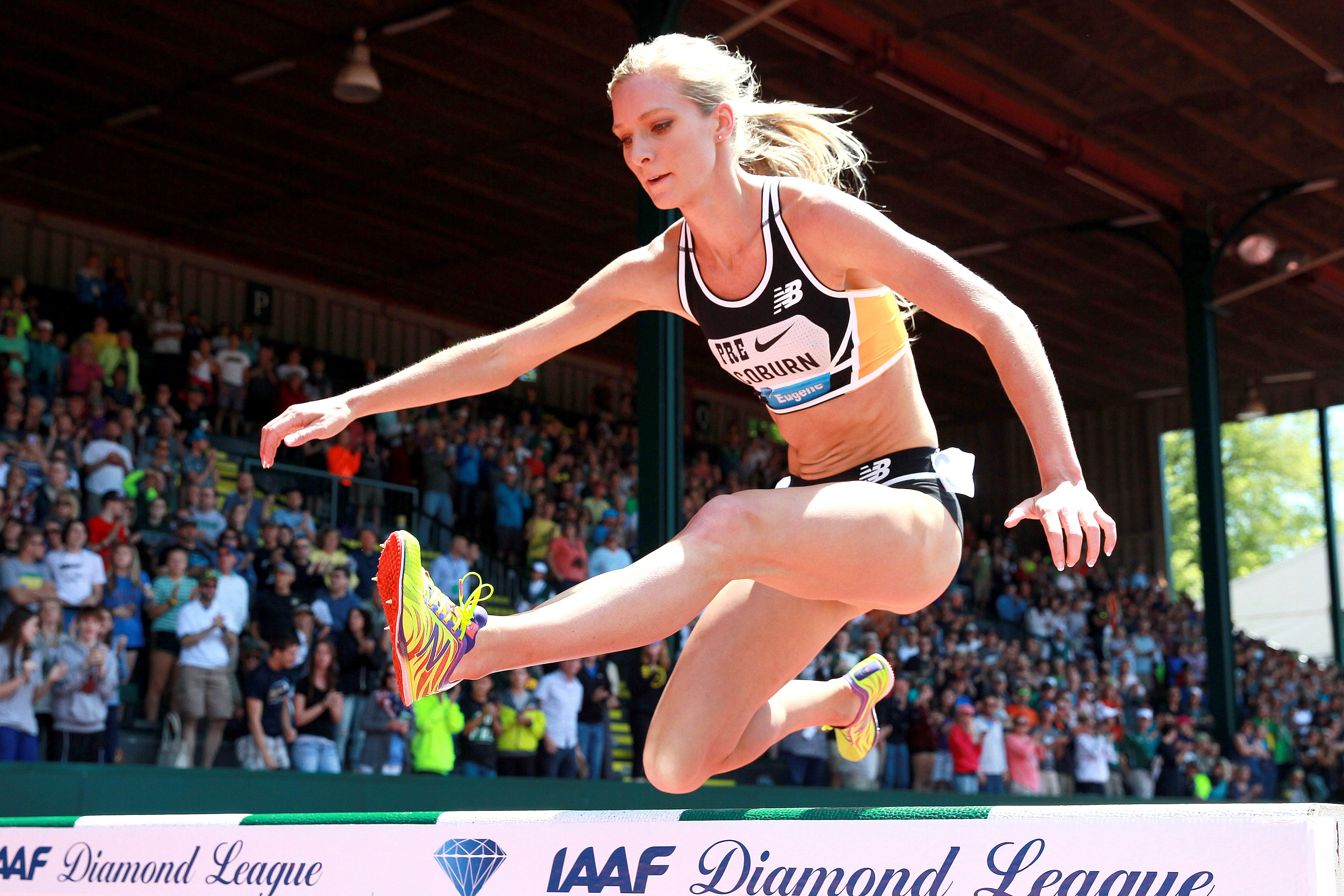 f9aeae422a Emma Coburn Sets New American Steeplechase Record