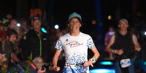 Turia Pitt finishes an Ironman