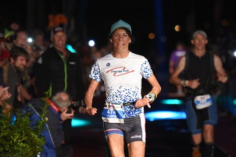 Death-Defying Runner Finishes Ironman