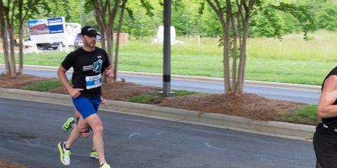 Jimmie Johnson #48 running