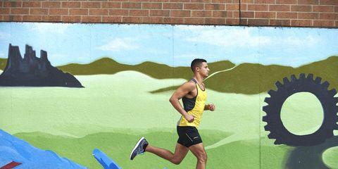 Marathon-pace training