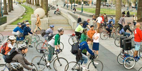 Cycling in San Francisco