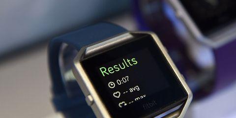 A smartwatch.