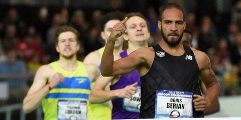 Berian wins national indoor championships