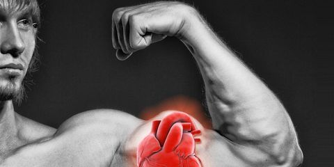 bigger biceps good for heart