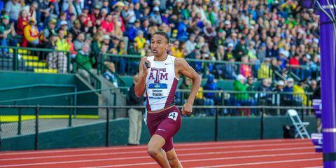 Donavan Brazier sets 800 meter NCAA record