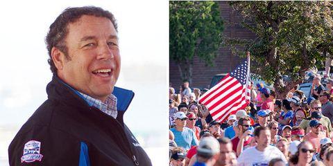 Peter Delaney and Vermont City Marathon
