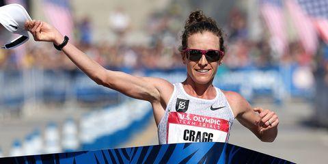 Amy Cragg wins the 2016 Olympic Marathon Trials