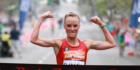 Shalane Flanagan wins 2016 San Diego Rock 'n' Roll Half Marathon