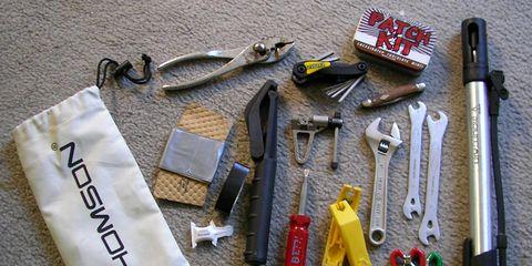 Bike tools.