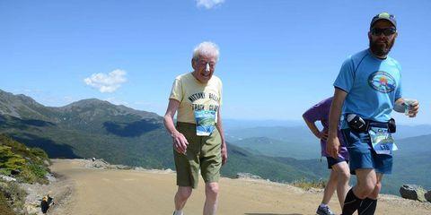 George Etzweiler climbs Mount Washington