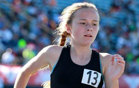 amazing grace 12 year old sets two world records runner s world