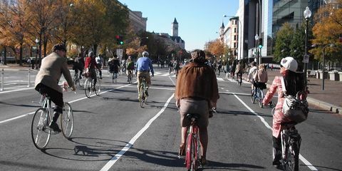 Cycling in DC.
