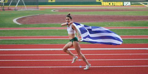 Alexi Pappas runs for Greece
