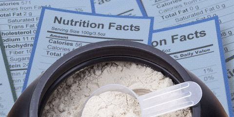 protein nutrition label