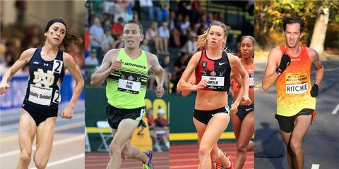 Elite athletes who have suffered sacral stress fractures