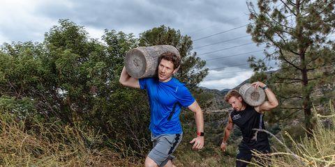 Zach Gilford training