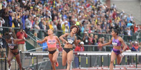 women's 100-meter hurdles, 2016