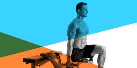 bulgarian split squate workout