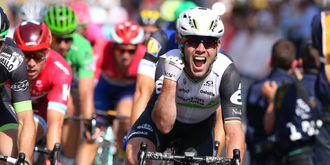 Cavendish wins stage 6 of 2016 Tour de France