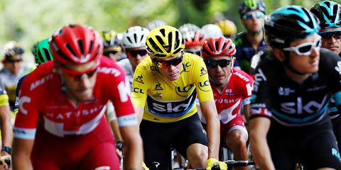 Froome and pack